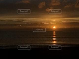 自然,海,夏,夕日,雲,夕焼け,夏の雲,北条海岸