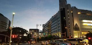 空,建物,ビル,沖縄,那覇市,秋空