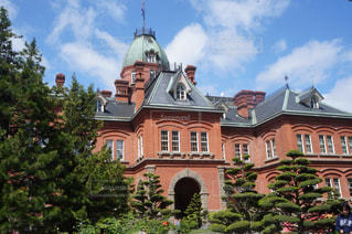 空,建物,北海道,秋空,旧本庁舎