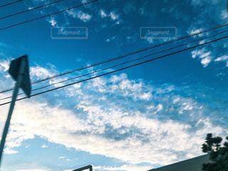 空,雲,田舎,千葉,秋空