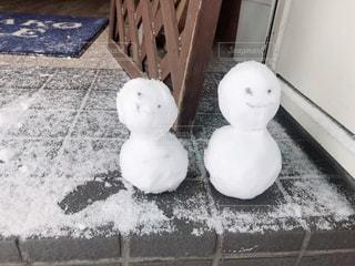 冬,雪,白,北海道,雪だるま