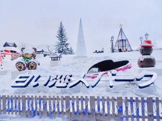 冬,雪,北海道,観光,イルミネーション,ハート,旅行,白い恋人パーク