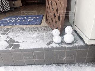 冬,雪,屋外,白,北海道,観光,雪だるま,タイル,通り,ホワイト