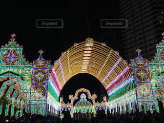 2017神戸ルミナリエストライプの写真・画像素材[1266369]