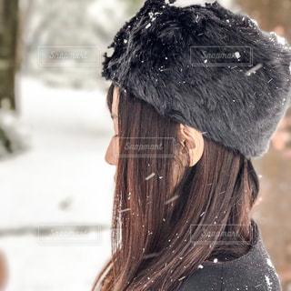 帽子をかぶった人の写真・画像素材[2811429]
