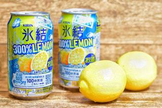 KIRIN 氷結300%レモンの写真・画像素材[1303201]