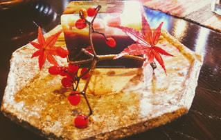カフェで和菓子の写真・画像素材[2978873]