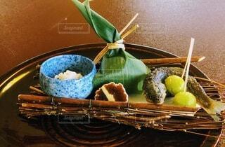 和食の前菜の写真・画像素材[3895574]