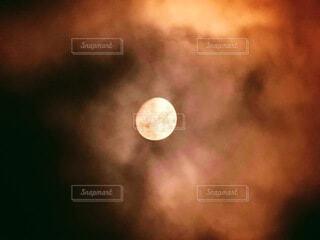 自然,風景,空,夜空,屋外,雲,月,月光,月面