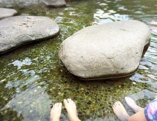足湯の写真・画像素材[1800349]