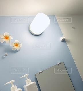 バスルームの写真・画像素材[3910138]