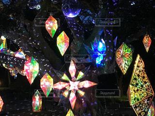 江ノ島、湘南の宝石のミラーボールの写真・画像素材[4579119]