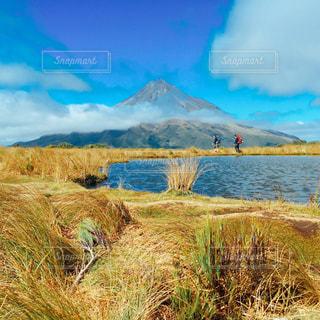 タラナキ山の写真・画像素材[1405227]