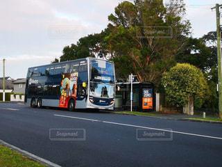 ニュージーランド,NZ,路線バス,2階建てバス