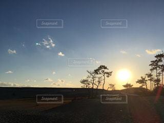 風景,空,夕日,夕暮れ,夕方,砂丘,静岡,浜松,中田島砂丘