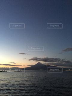 風景,空,夕日,富士山,夕暮れ,夕方,静岡,沼津