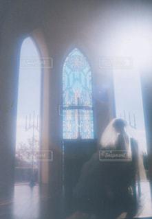 聖なる光の祝福の写真・画像素材[1265793]