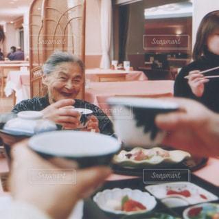 おばあちゃん、おめでとう💐の写真・画像素材[1454939]