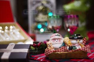 待ち遠しいクリスマスパーティーの写真・画像素材[1639157]