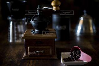我が家のコーヒーセットの写真・画像素材[1872037]