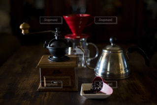 我が家のコーヒーセットの写真・画像素材[1872042]