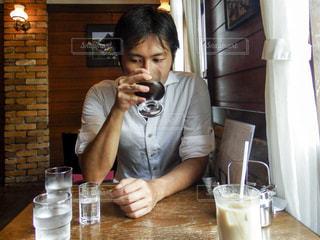 旅先の喫茶店の写真・画像素材[2257168]