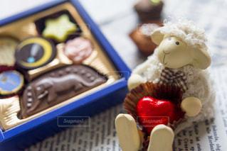 チョコの贈り物の写真・画像素材[2266224]