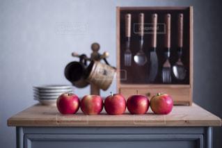ミニリンゴの写真・画像素材[2873170]
