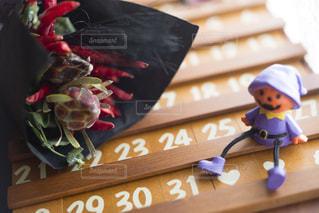 木製カレンダーの写真・画像素材[3029729]