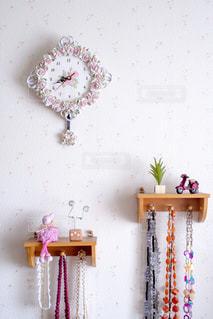 壁の装飾の写真・画像素材[3341205]
