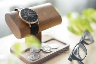 メガネ&腕時計の写真・画像素材[3642750]
