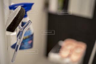 お風呂用お掃除用具の写真・画像素材[3995483]