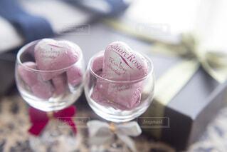 バレンタインデーのチョコとプレゼントの写真・画像素材[4156607]