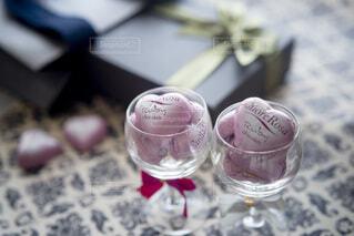 バレンタインデーのチョコとプレゼントの写真・画像素材[4156608]