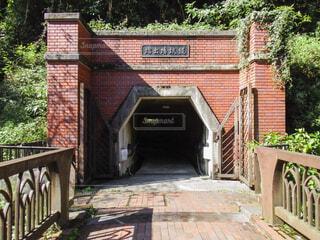 レンガ作りの入り口の写真・画像素材[4468835]