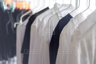 洗濯物の部屋干しの写真・画像素材[4647964]