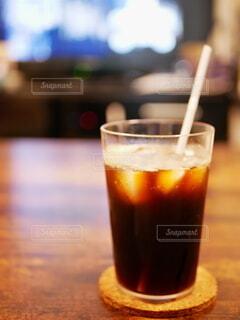 おうちでアイスコーヒーの写真・画像素材[4712702]