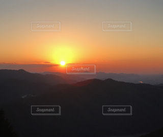 空,夕日,夕焼け,夕陽,書写山
