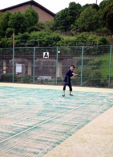 ソフトテニスの写真・画像素材[1294850]