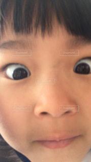 びっくり顔の写真・画像素材[1449068]