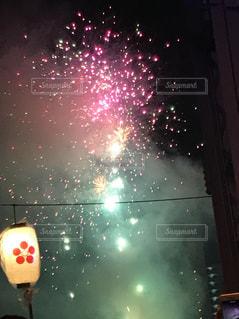 打ち上げ花火の写真・画像素材[1329501]