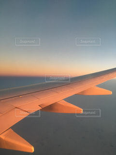 空,夕日,幻想的,窓際,雲の上,貸切,ドバイ,機上