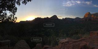 風景,夕日,アメリカ,山,大自然,セドナ,サンセット,ボルテックス,インスタ映え