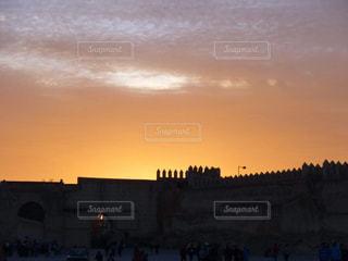 夕日,雲,門,街中,モロッコ,夕暮れ時,迷子,キレイ,フェズ,迷路,インスタ映え