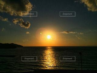 海,空,夕日,太陽,夕暮れ,水面,景色,夕陽,熱海