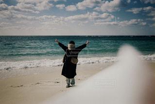 真冬の白浜の写真・画像素材[1268703]