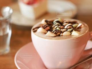 カフェ,ピンク,茶色,デザート,マグカップ,チョコレート,ベージュ,ブラウン,ココア,マシュマロ,薄ピンク,東京カフェ,ミルクティー色,ミルクティーモカ