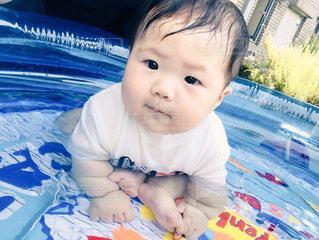 プール,水面,赤ちゃん