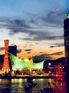 水域に架かる橋の写真・画像素材[2717064]