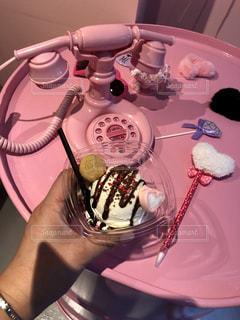 カフェ,ピンク,アイス,今どき